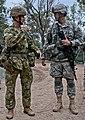US and Australian Army battlefield commanders conduct battle update 130723-A-ZX807-004.jpg