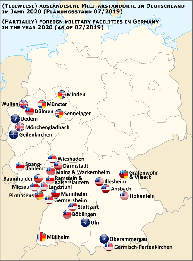 Map Of Germany Garmisch.List Of United States Army Installations In Germany Wikiwand