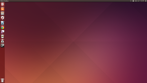 Ubuntu 14.04 Trusty Tahr kun Unity