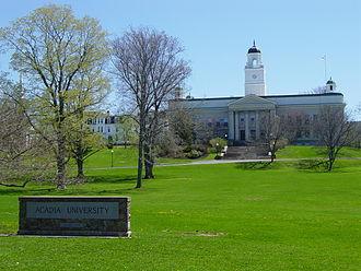 Acadia University - University Hall at Acadia University