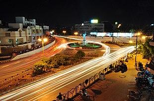 Rani Lakshmibai Circle and Under Bridge