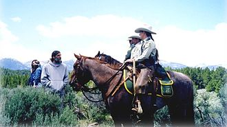 United States Forest Service - Image: United States Forest Service Horse patrol