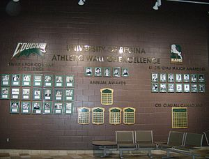 Regina Cougars - U of R Athletic Wall of Excellence
