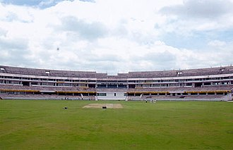 2009 Champions League Twenty20 - Image: Uppal stadium