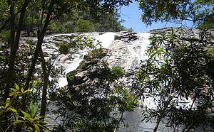 Annan River - A waterfall in the Upper Annan River catchment