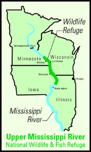 Upper Mississippi River National Wildlife and Fish Refuge - (United States Fish and Wildlife Service)