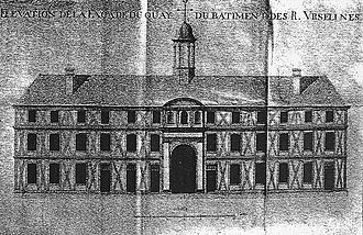 History of the Ursulines in New Orleans - First Ursuline Convent, New Orleans, 1734