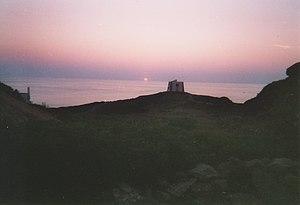 Ustica on sunset