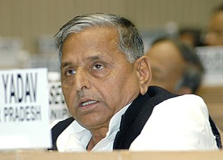 Mulayam Singh Yadav Indian politician and former chief minister of the state of Uttar Pradesh