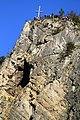 Výšinné opevněné sídliště - hradiště Svatojánská skála, archeologické stopy (Svatý Jan pod Skalou) (4).jpg