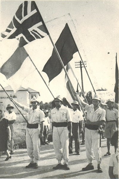 File:VE-day parade, Afula, Israel, 1945.jpg