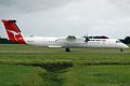 VH-QOA 'Gladstone' Bombardier Dash 8-Q402 QantasLink (Sunstate Airlines) (8687800572).jpg