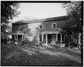 VIEW OF WEST SIDE - Governors Island, Commissary Storehouse, New York Harbor, Nolan Park, New York, New York County, NY HABS NY,31-GOVI,13-1.tif