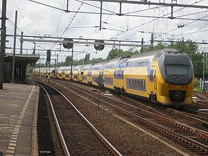 Ein InterCity in Gouda
