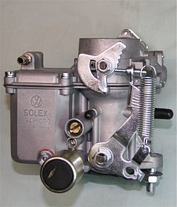 VW Solex carburetor as used on Aircooled Beetles from 1970 onwards.