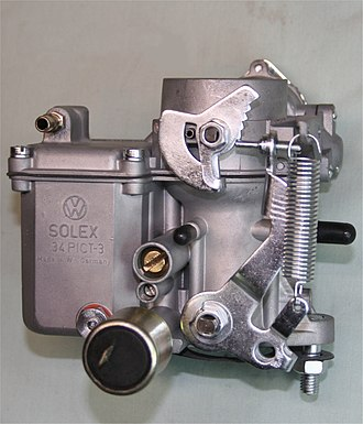 Solex - VW Solex carburetor as used on Aircooled Beetles from 1970 onwards.