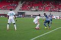Valais Cup 2013 - OM-FC Porto 13-07-2013 - Rod Fanni, Morgan Amalfitano et Alex Sandro.jpg