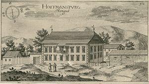 Ferdinand Augustin Hallerstein - Ravbar Castle