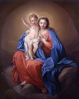 Charles-André van Loo - Charles-André van Loo, The Virgin, 1738