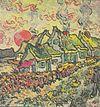 Van Gogh - Bauernhäuser (Erinnerung an den Norden).jpeg