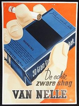Van Nelle De Echte Zware karonnen reklame bord pic2