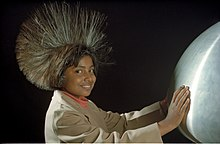 Van de Graaff Generator - Science City - Calcutta 1997 444.JPG