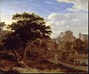 Van der Heyden, Jan - Two Churches and a Town Wall - Google Art Project.jpg