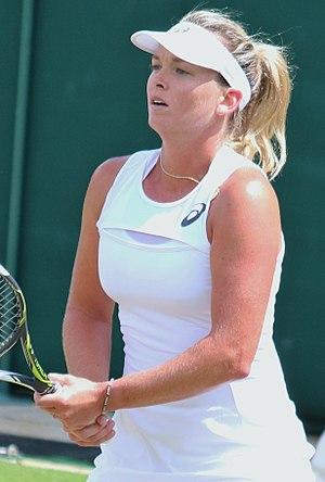 CoCo Vandeweghe - Vandeweghe at the 2017 Wimbledon Championships