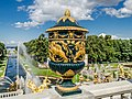 Vase on the terrace of Grand Peterhof Palace.jpg