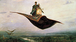 Viktor Michajlovič Vasněcov: Flying Carpet
