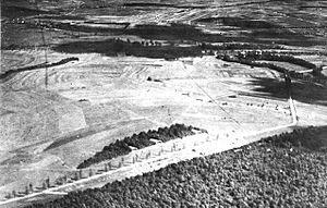 Vaucouleurs Aerodrome - Image: Vaucouleurs Aerodrome South France
