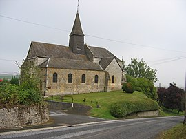 The church in Vaux-Champagne