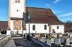 Velden Augsdorf Pfarrkirche hl. Maria Rosenkranzkönigin Kirchenschiff 24122019 7751.jpg
