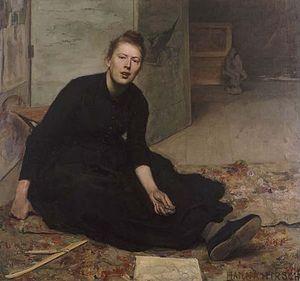 Hanna Hirsch-Pauli - Image: Venny Soldan Brofeldt painting by Hanna Pauli