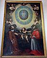 Ventura salimbeni, ss. lorenzo a carlo borromeo adorano il nome di gesù, 1600-10 circa 01.JPG