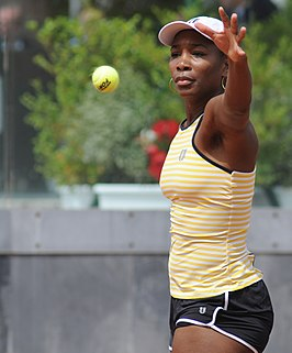 Winnares in het enkelspel, Venus Williams