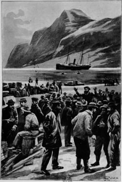 Verne - Les Naufragés du Jonathan, Hetzel, 1909, Ill. page 166