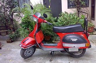 Vespa T5 - Vespa T5 (150cc, 2 stroke, 1989 model)