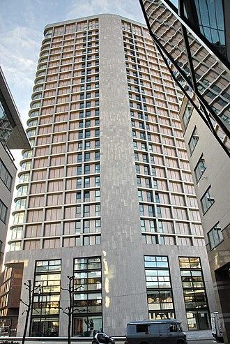Vesteda Toren - Image: Vestedatoren, Eindhoven zijkant