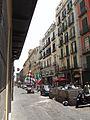 Via Santa Brigida (Naples) - Italian flags - Euro 2012.jpg