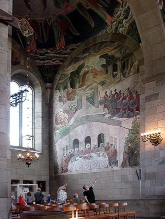Viborg Cathedral - Skovgaard painting.