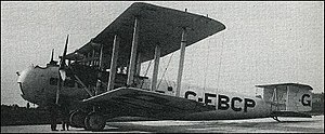 Vickers Type 170 Vanguard - Image: Vickers Vanguard 1928