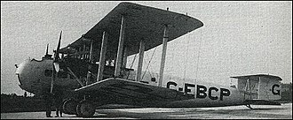 Vickers Type 170 Vanguard - Image: Vickers Vanguard 1928