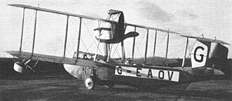 Vickers Viking - The Vickers Viking prototype in 1919