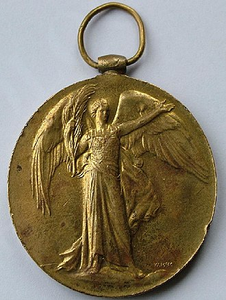 Victory Medal (United Kingdom) - Image: Victory Obverse