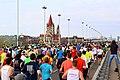 Vienna City Marathon 2015 - Reichsbrücke (2).JPG