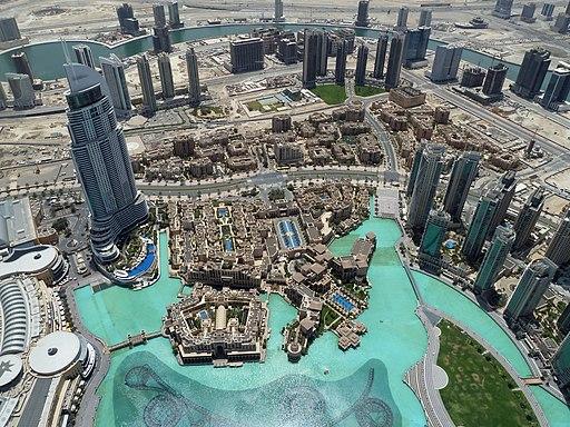 View from Burj Khalifa (8667329327)