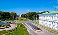 View from the bird's-eye view at the downtown Poltava (35261830820).jpg