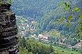 View from the rock Popelník towards Dolní Žleb 02.jpg