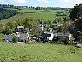 View of Llanarmon Dyffryn Ceiriog from south - geograph.org.uk - 1324096.jpg